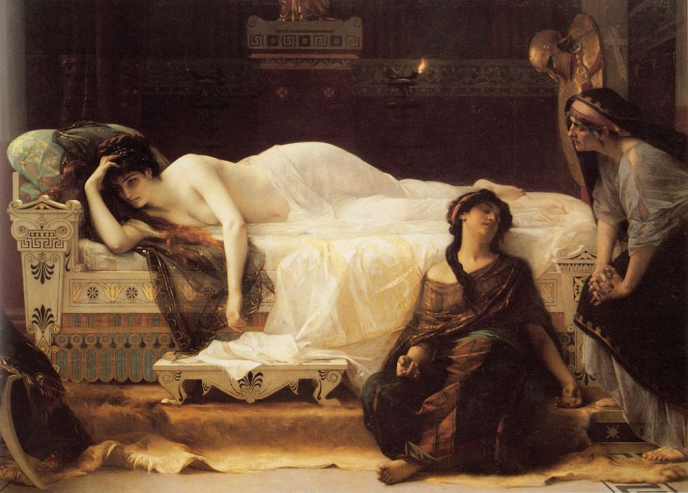 Phaedra (1880) by Alexandre Cabanel