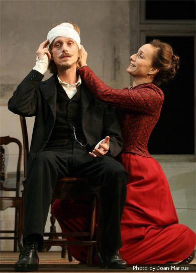 Kristin Scott Thomas as Irena Nikolayevna Arkadina. Perfect.